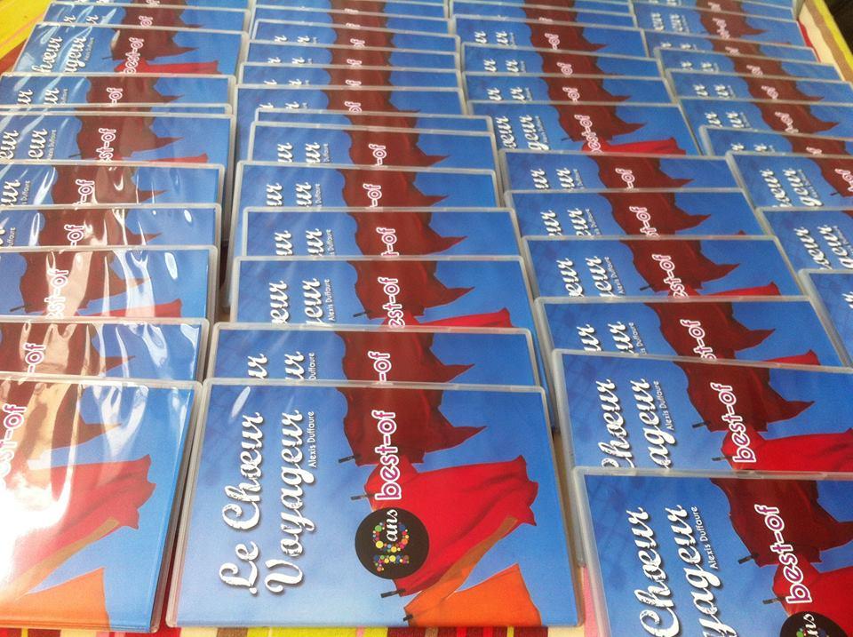 DVD 10 ans du Choeur Voyageur