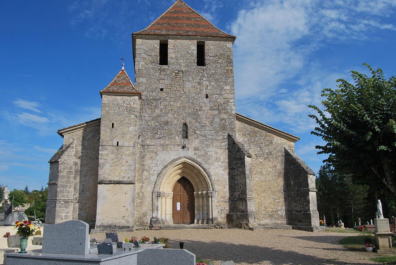Villefranche_de_Lonchat_église_Notre_Dame_ de l'assomption